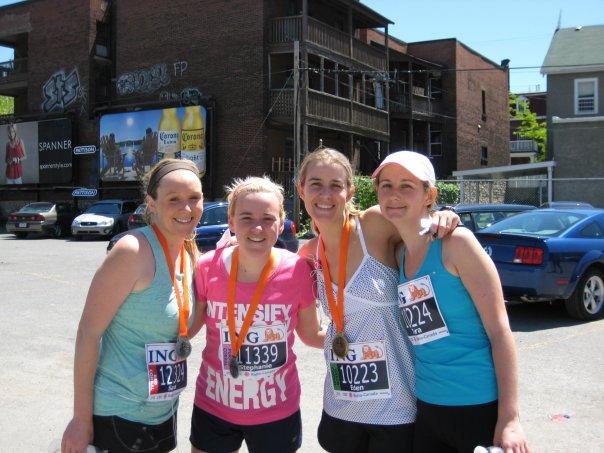My first half marathon.