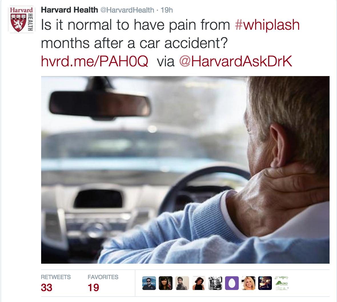 Harvard Auto Accident