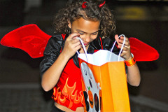Trick or Treat Halloween accident attorney