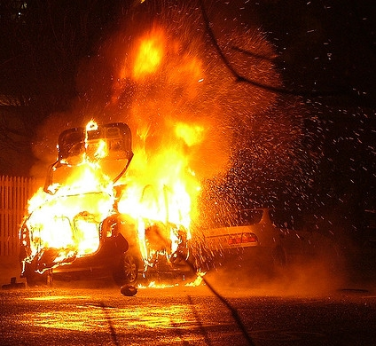 car accident fire lawyer
