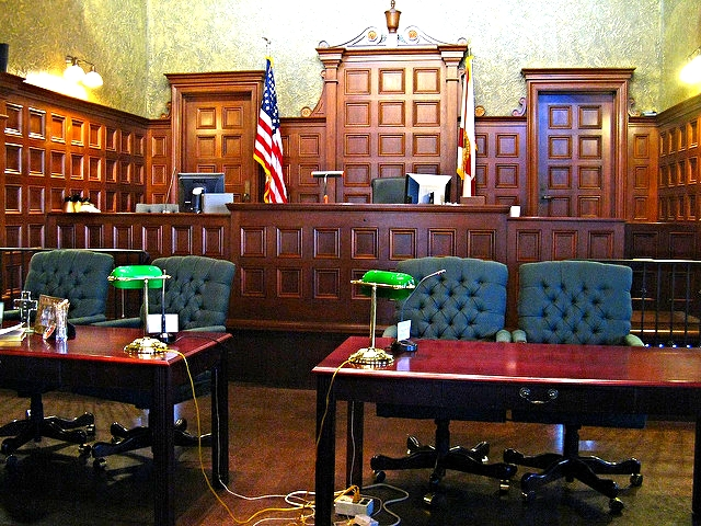 Virtual Reality Court Room Lawyer