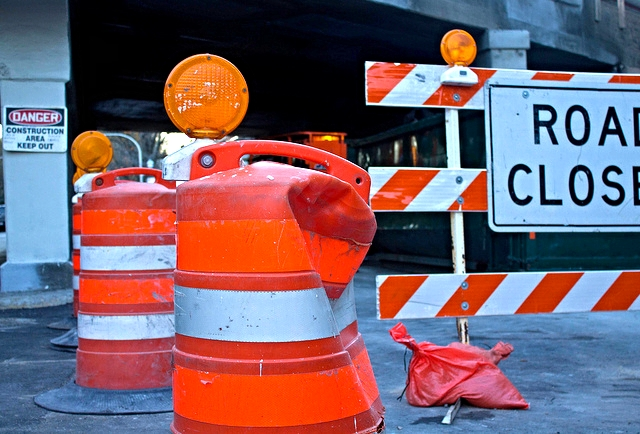 Construction Car Crash Lawyer
