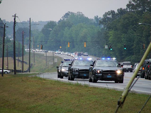 Police Car Crash Lawyer