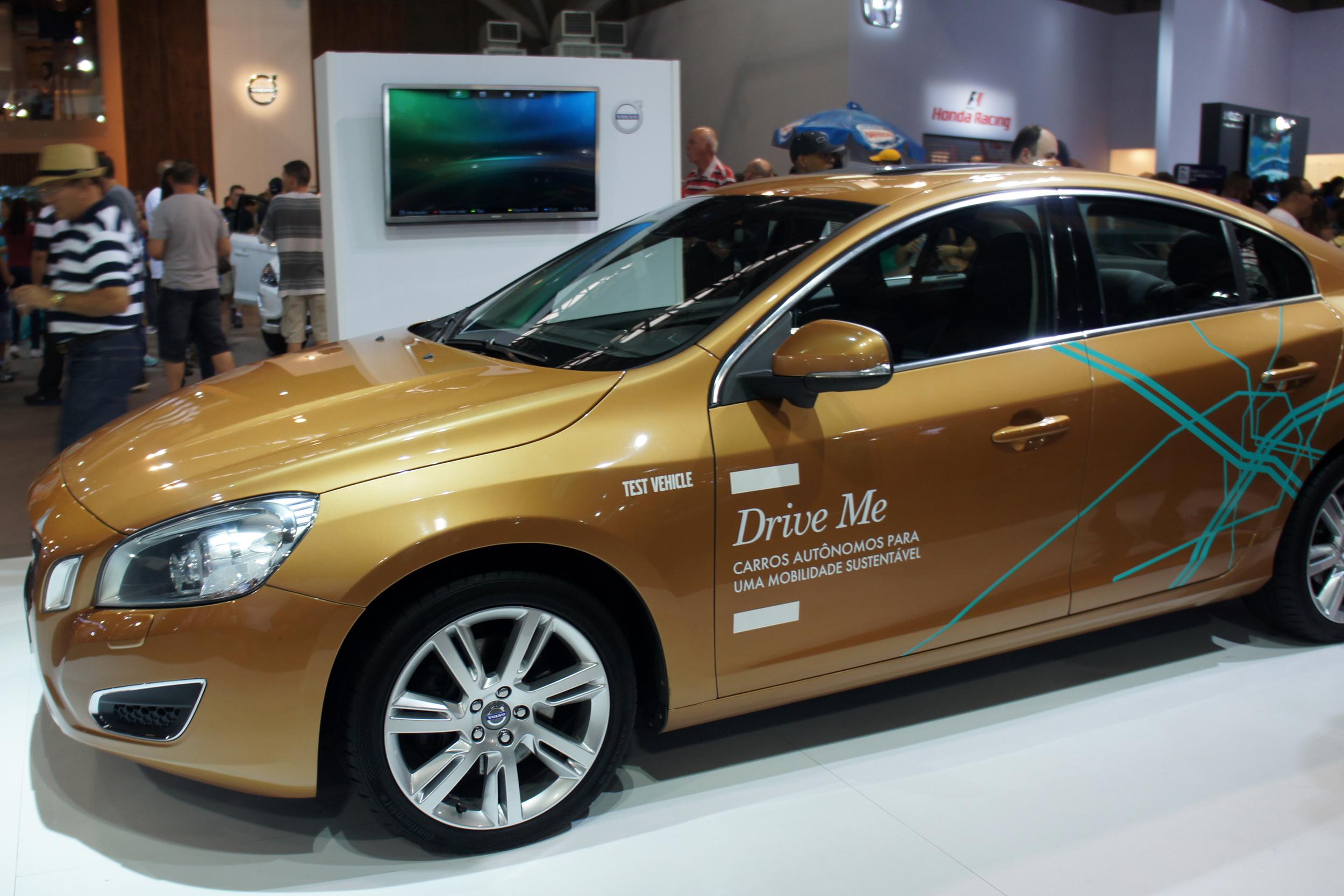 Volvo DriveMe Autonomous Car