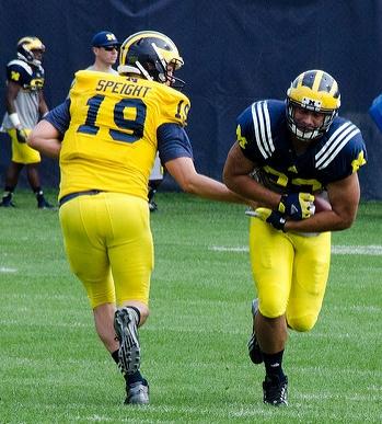 Michigan Football Wilton Speight Injury
