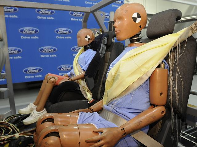 Car Crash Seat Belt Injury