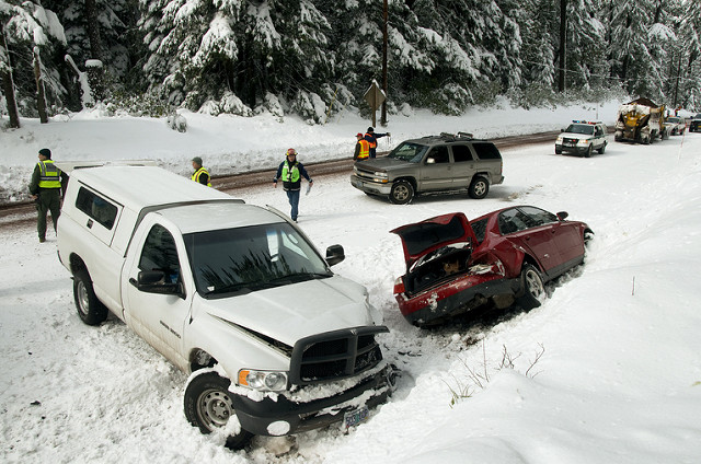 Michigan Winter Car Crash Lawyer
