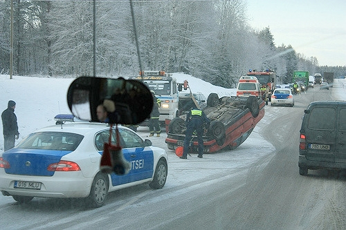 Detroit Winter Car Accident Lawyer