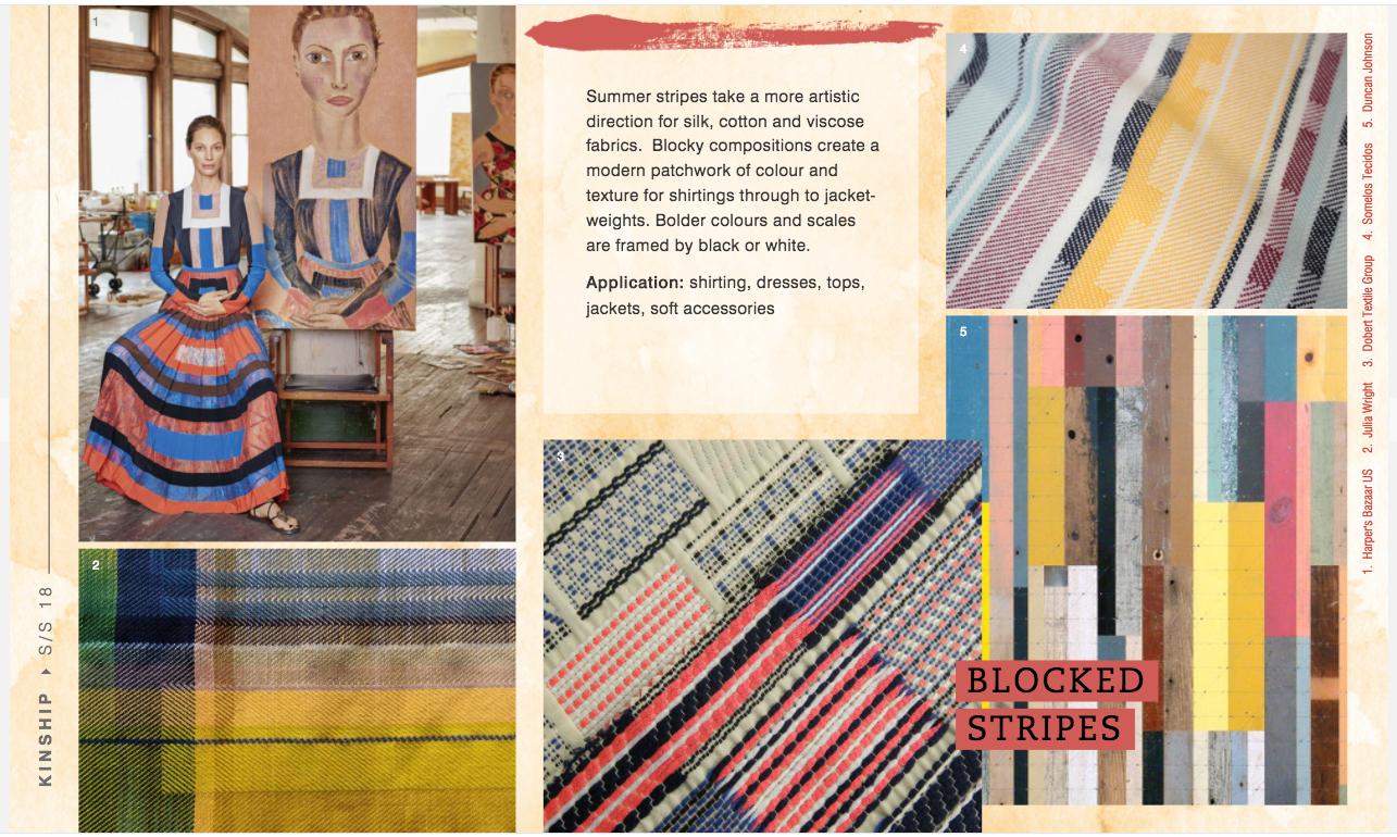 WGSN Women's Textiles Forecast S/S 18: Kinship
