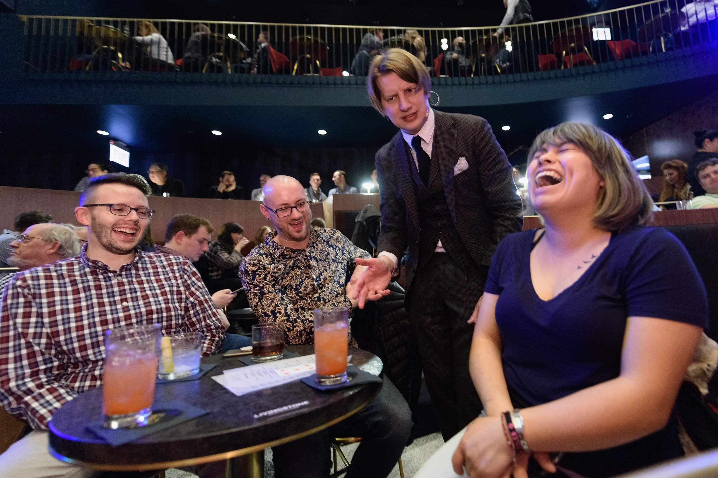 09_Magician Justin Purcell with Guests_Photo by Daniel Boczarski.jpg