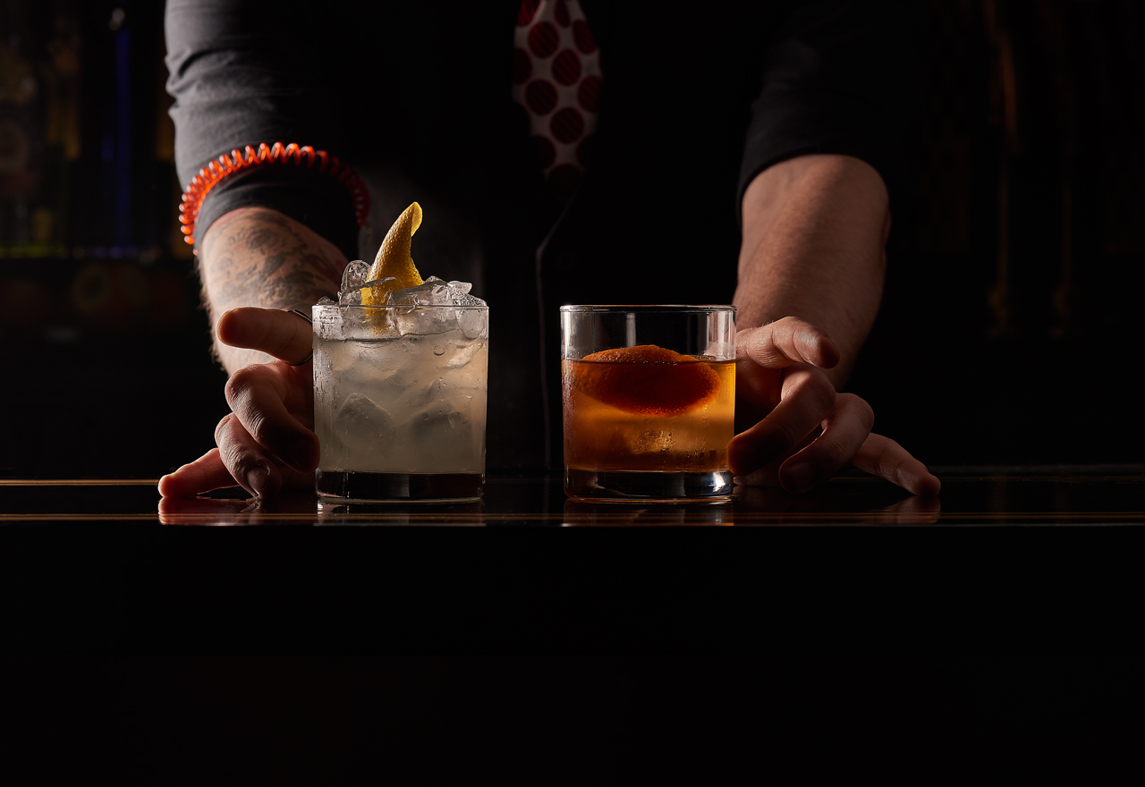Drink Menu - Finely crafted signature and old school cocktails