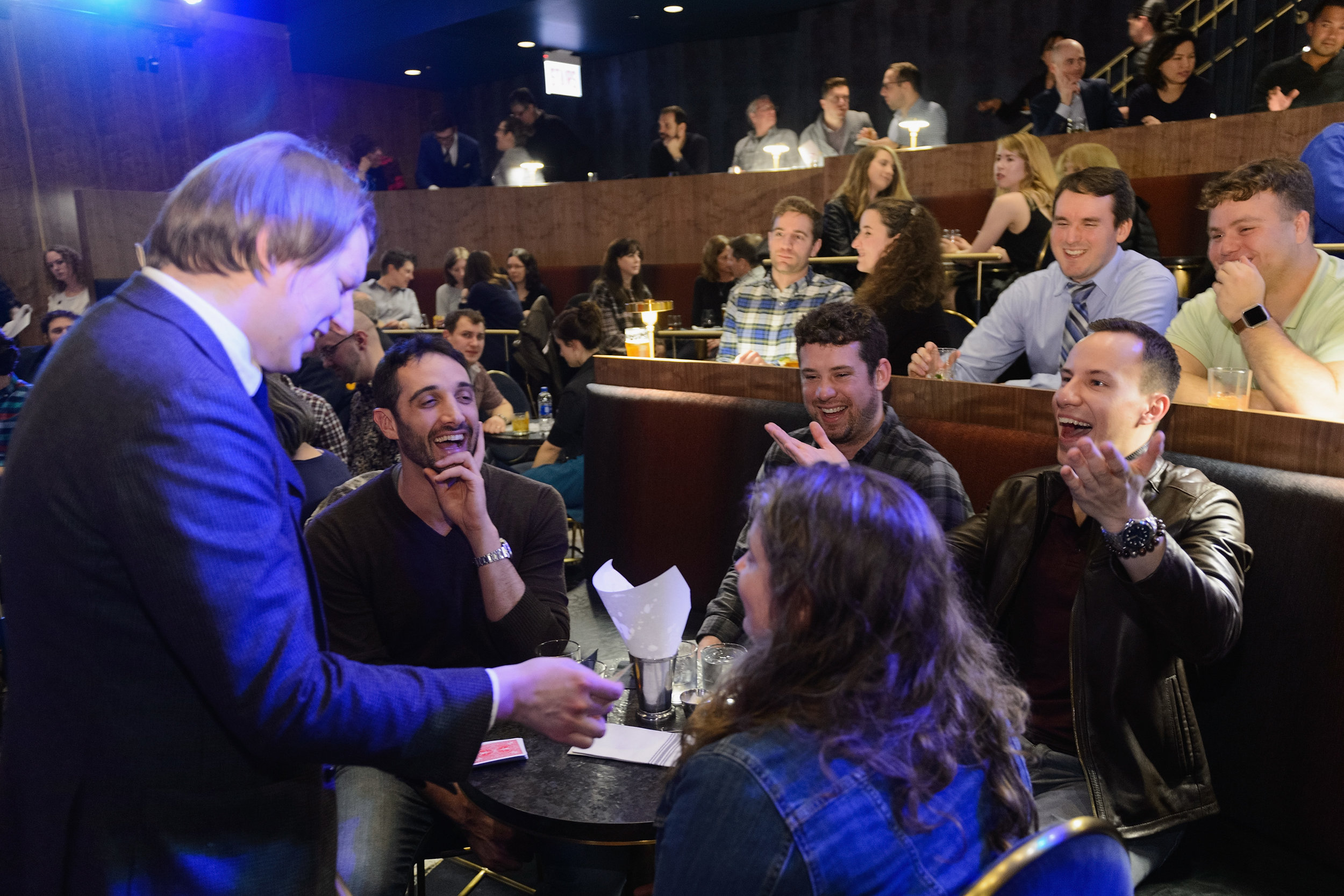 In the press - what people are saying about the Chicago magic lounge