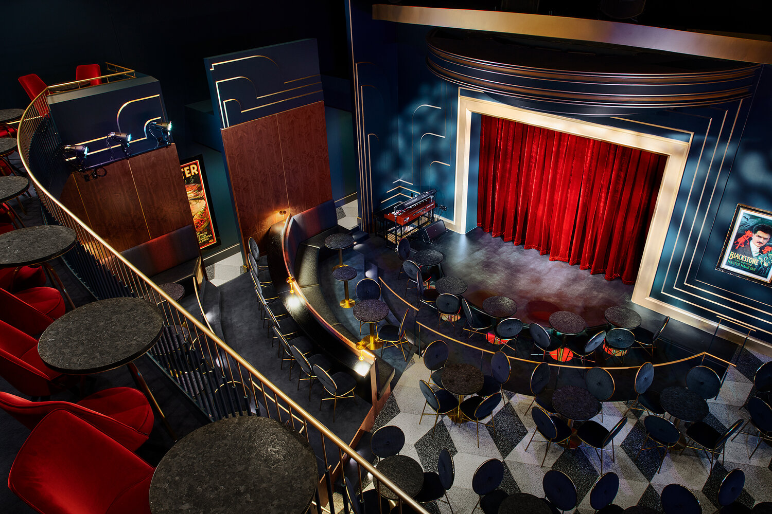 Harry Blackstone Cabaret Theater™ - perfect for meetings, company parties, and larger social events