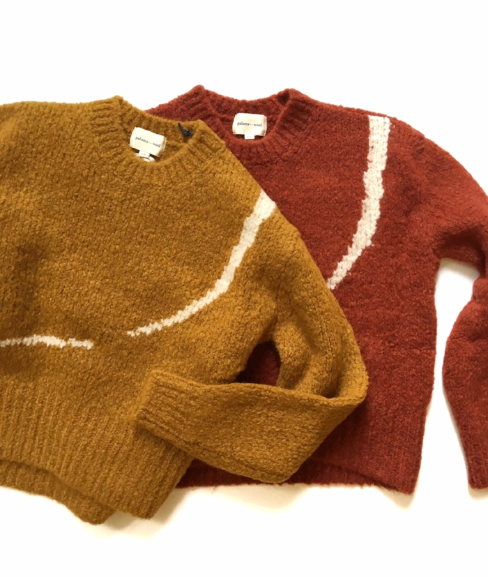 Our Fall Paloma Wool has arrived! We have tons of new styles, including the new corduroy pieces, sweaters, scarves, the Sofia Shoe and the Olympics earrings. Check our web store for new additions.