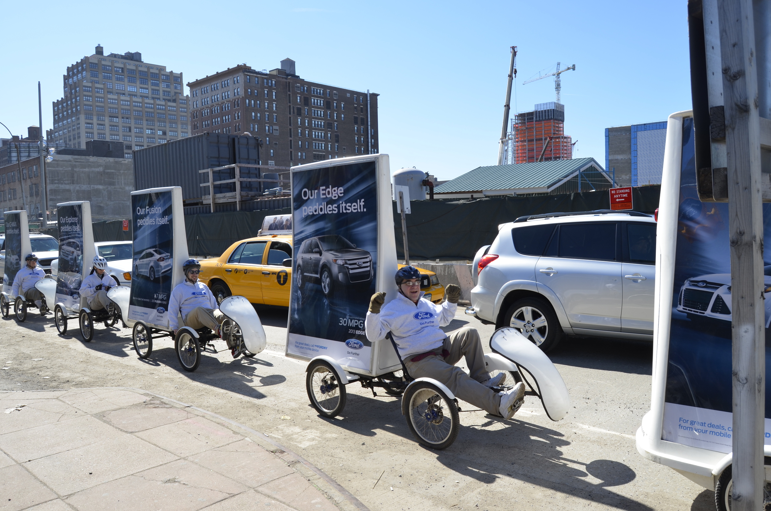 Ford Ad Bikes