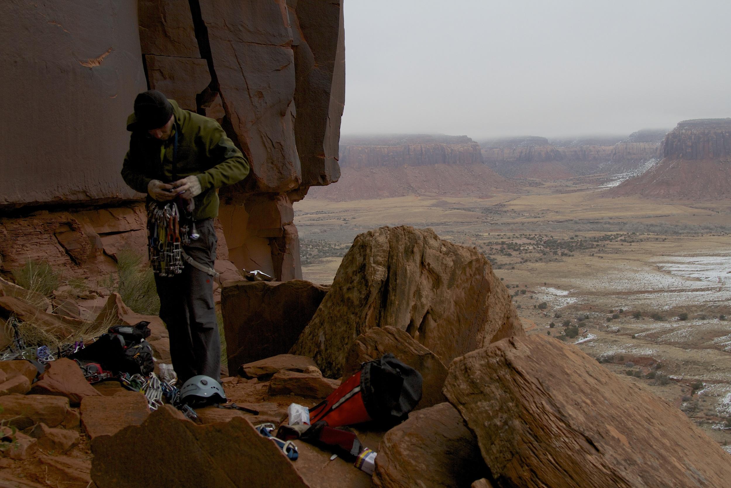 Indian Creek, a world class sandstone crack climbing area.Photo credit: flickr, Jonathan Fox