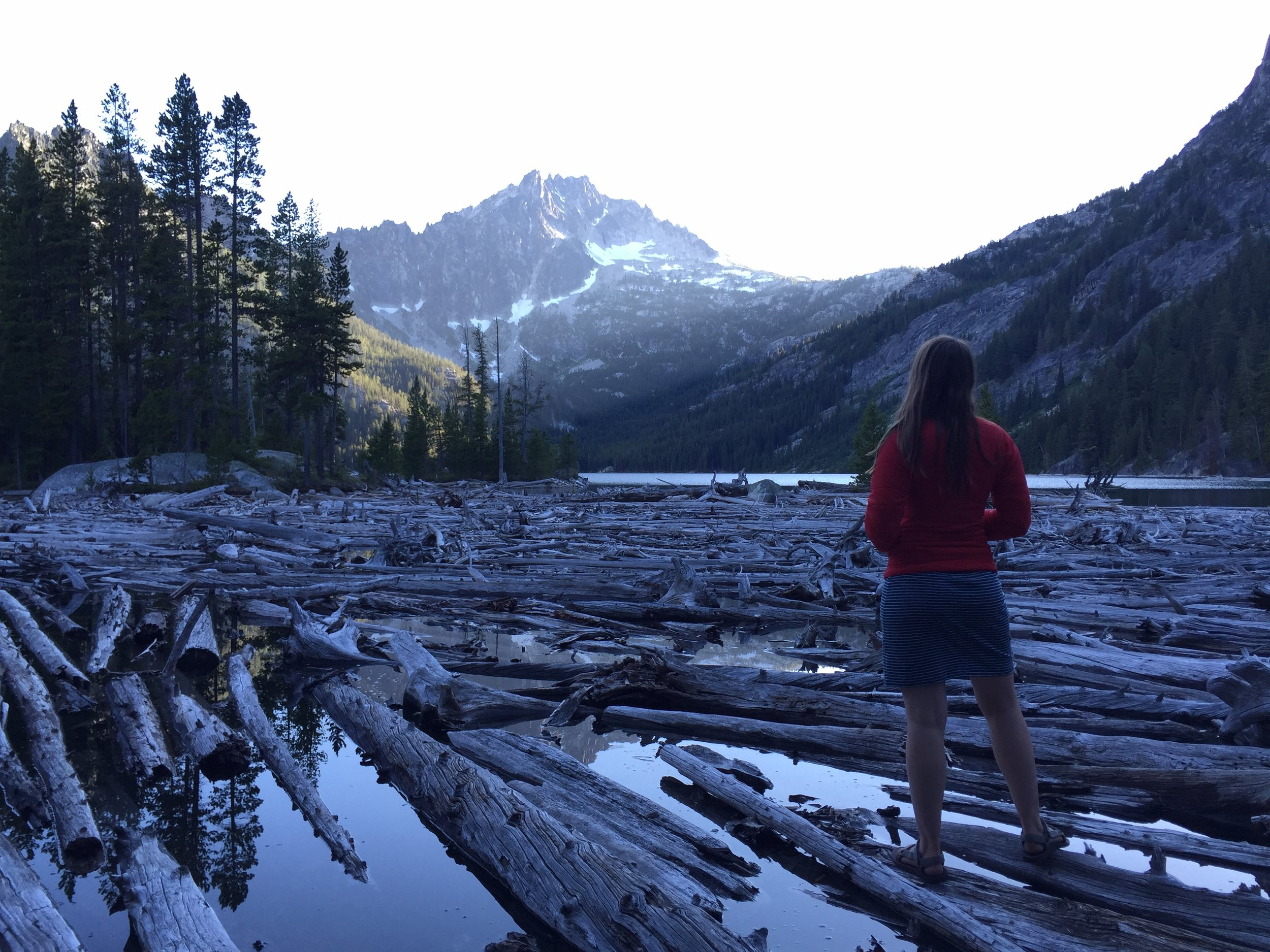 The Alpine Lakes Wilderness in Washington State, which has received funding from LWCF for trail maintenance and conservation work along two lakes.