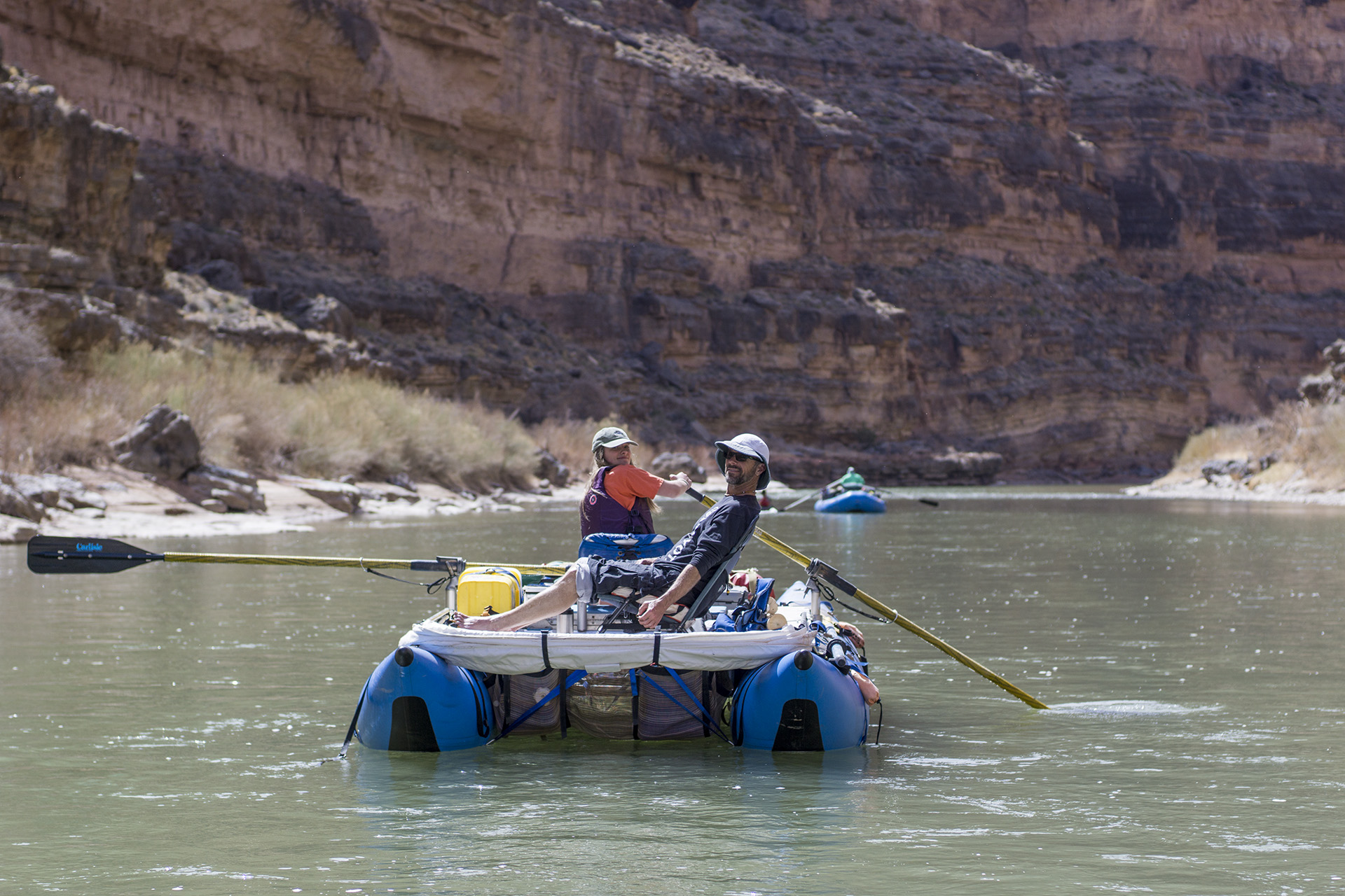 The San Juan River is at the center of the battle to protect the integrity of the Antiquities Act and was a key part of the landscape that was removed when Bears Ears National Monument was shrunk. | Image Evan Stafford – American Whitewater Communications Director