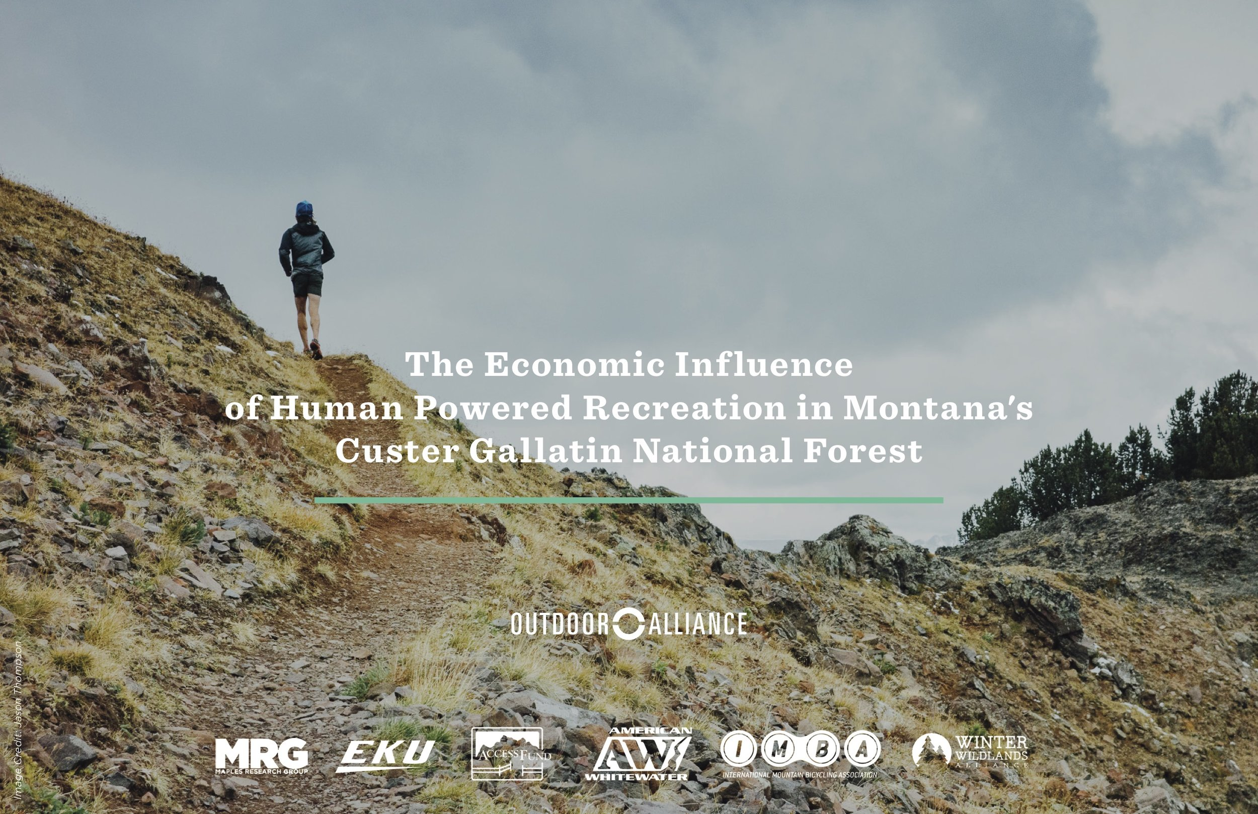 Learn more about the economic influence of outdoor recreation in the Custer Gallatin National Forest by clicking on the image above.