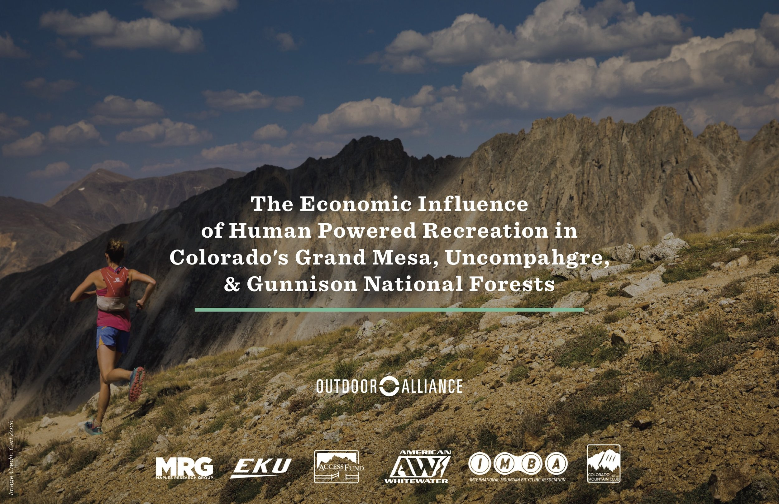 Learn more about the economic influence of outdoor recreation in the GMUG National Forests by clicking on the image above.