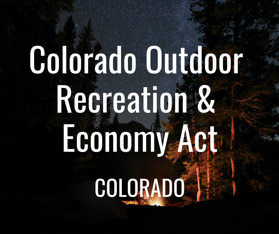 The Continental Divide bill protects landscapes on the White River National Forest in manner cognizant of both the landscape's historic, conservation and recreation values, and was developed through an exemplary collaborative process, importantly, including mountain bikers, whose input is essential for new Wilderness designations. (H.R.4883/ S.2337)