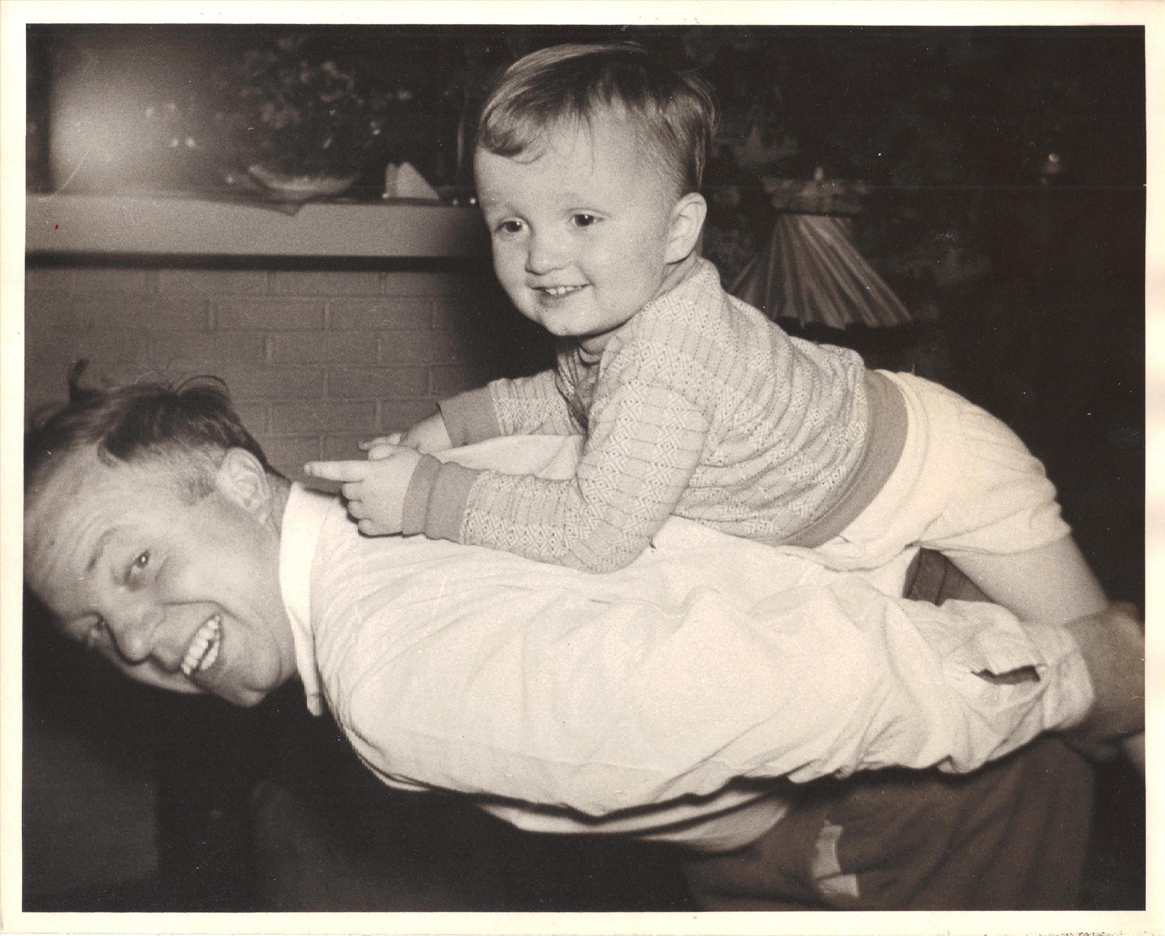 THEN: Meyer Wire Founder, Henry Meyer with son Brian Meyer in 1955.