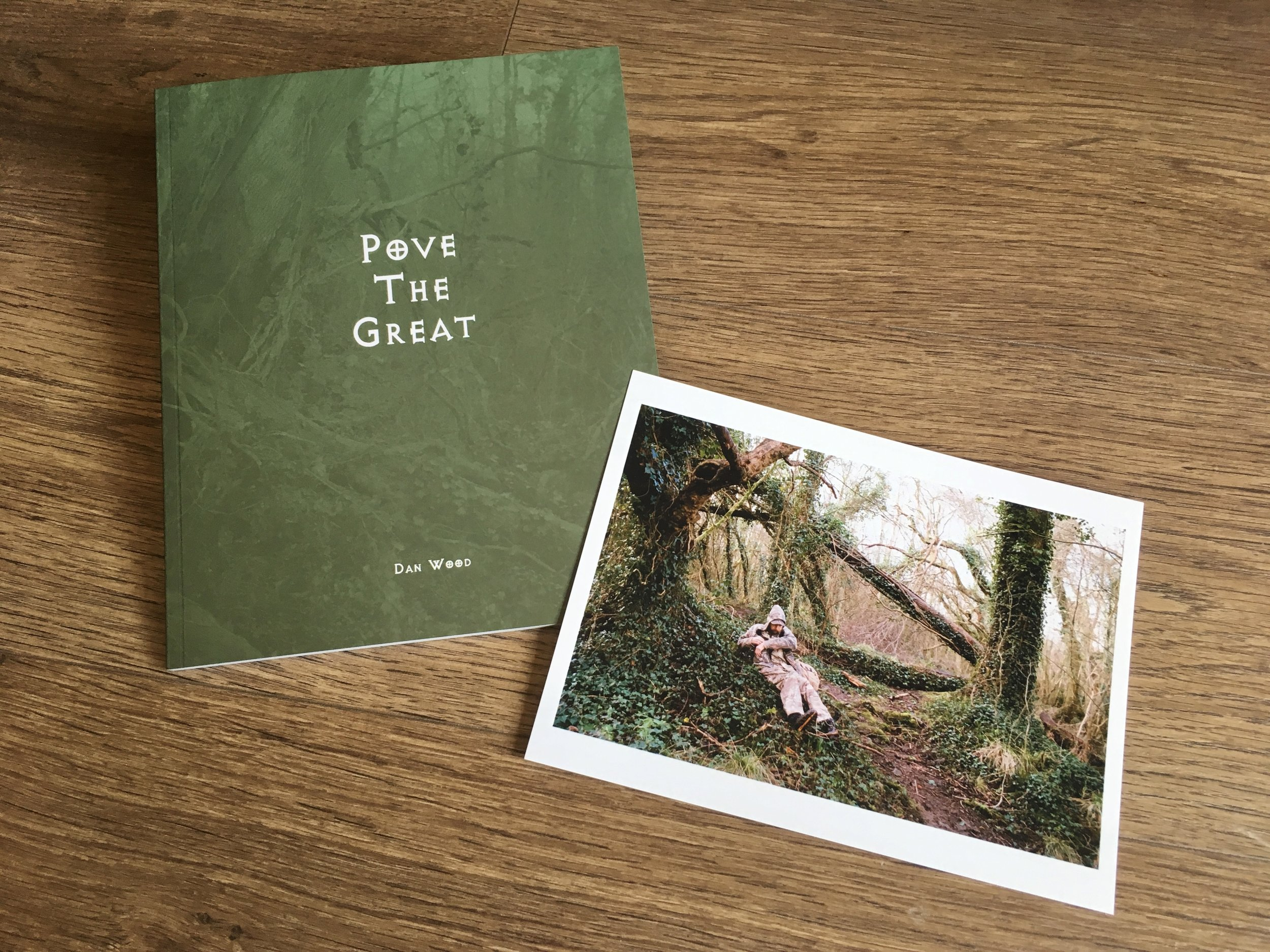 Pove the Great, with Print. Self-Published, 2019   Ltd Ed. 100 Copies Only  Available   HERE