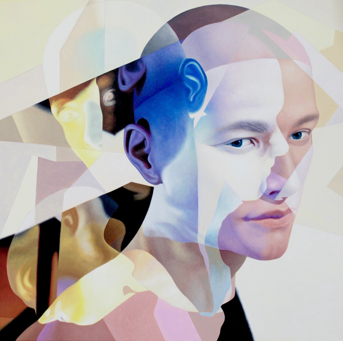 """Sunlight Spirit"", 24x24 in., Oil on canvas, 2018"