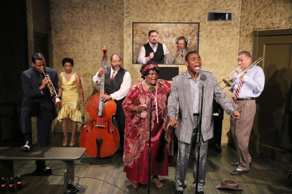 """Ma Rainey's Black Bottom"" - August Wilson Role: Levee Green    Best Actor 2014 // DFW Critics    Choice 2014   Jubilee Theatre, 2014 Directed by Tre Garrett"