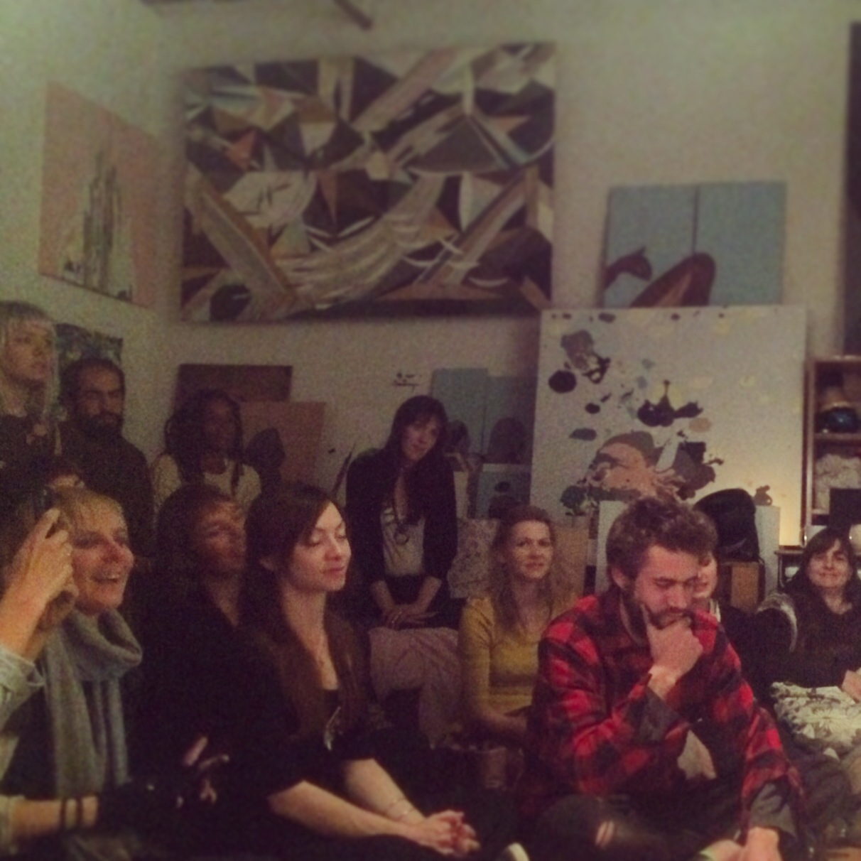 Art Music Tea Party Nov 8 2014 AA Studio Brooklyn NY