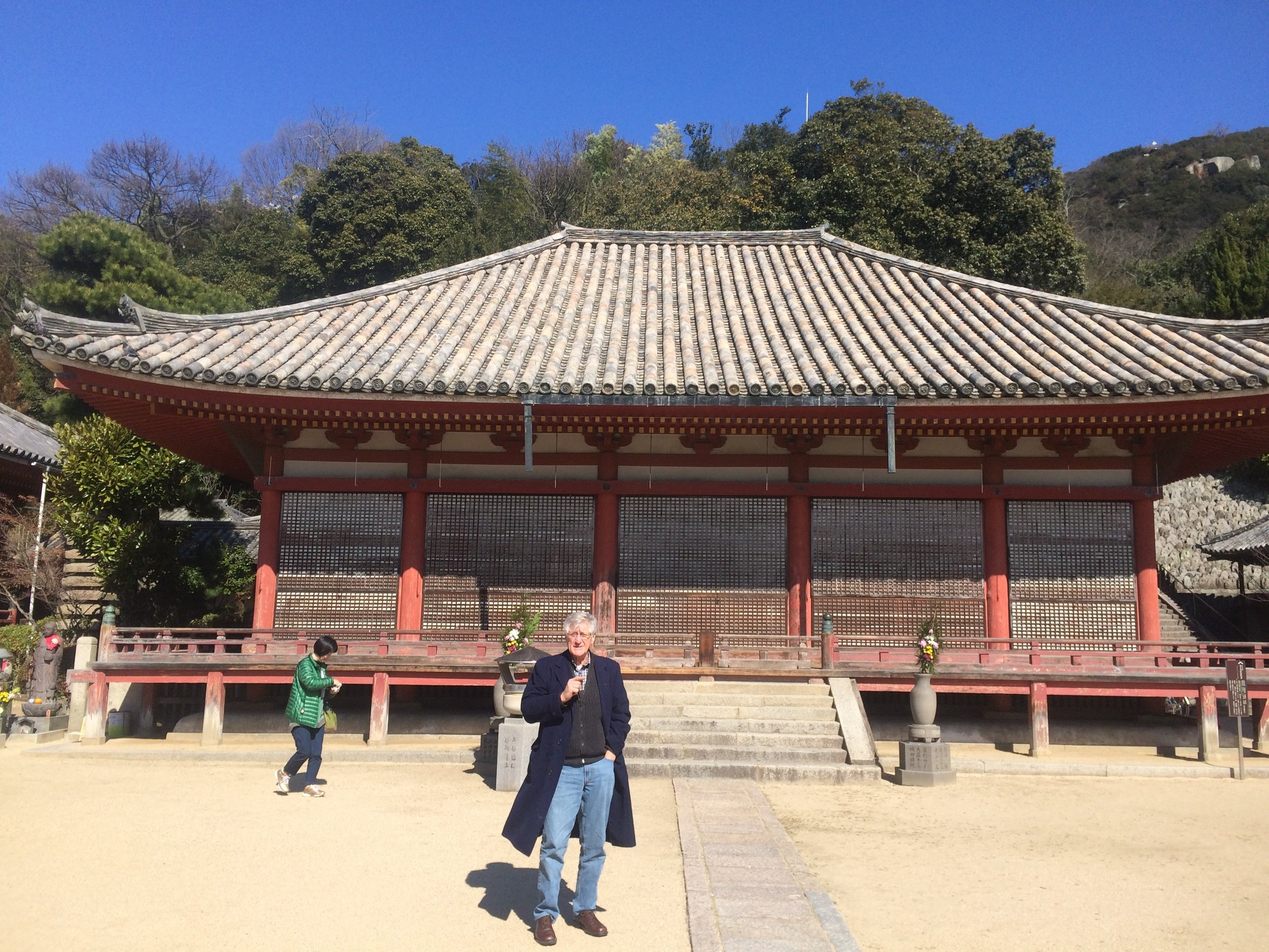 Uncontaminated Shrine on Japan's west coast.