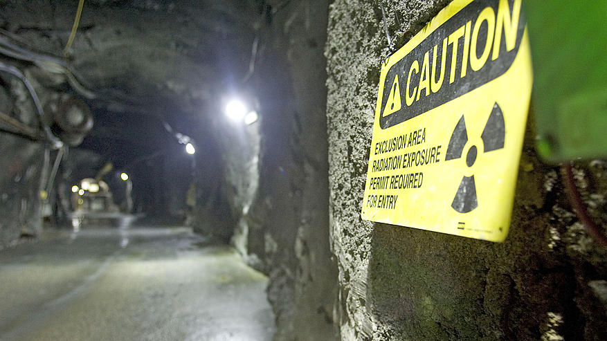 Underground Uranium Mining. Photo Source: Dave Stobbe/REUTERS