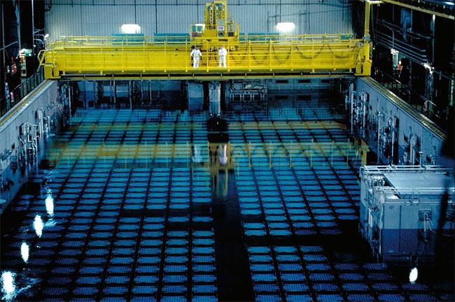 Spent Fuel Pool. Photo Source: NRC