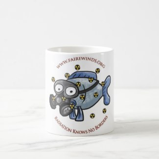 Radiation Fish Mug