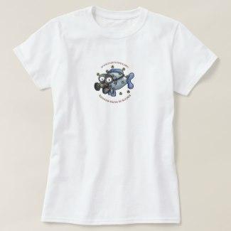 Ladies' Radiation Fish T-Shirt (Classic)