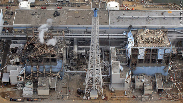 Destruction at the Fukushima Daiichi Nuclear Plant
