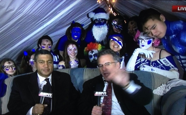 ESPN VISITS KRZYZEWSKIVILLE - SHared on fancred, via Jeff Graybeal