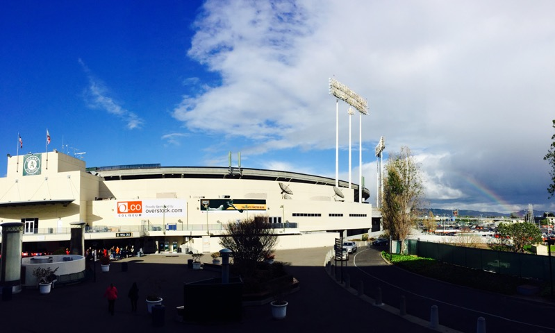 SHARED ON FANCRED BY  ORACLE ARENA & O.CO COLISEUM