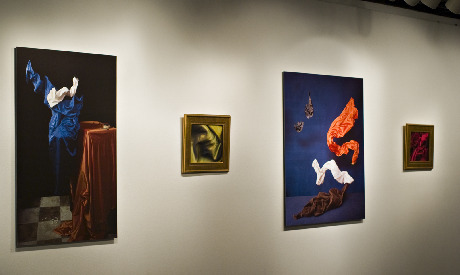 Installation view,  The Cloths of Heaven , 2010.