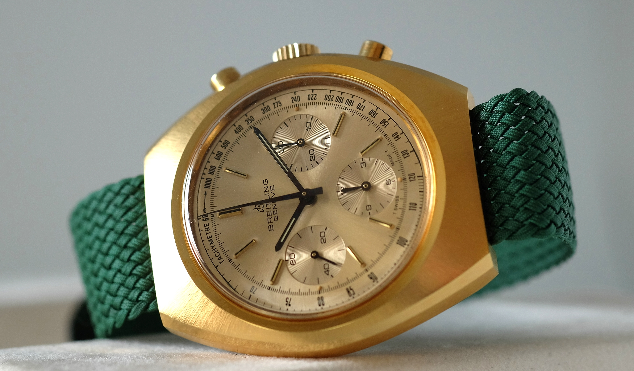 Breitling Long Playing Chronograph NOS   SOLD