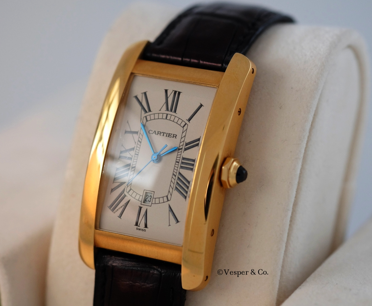 Cartier Tank Américaine    SOLD