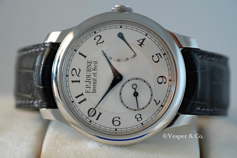 FP Journe Chronometre Souverain Platinum   SOLD