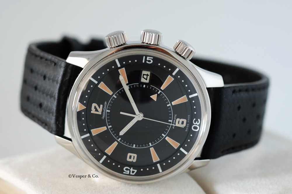 Jaeger LeCoultre Memovox Tribute Polaris 1968   SOLD