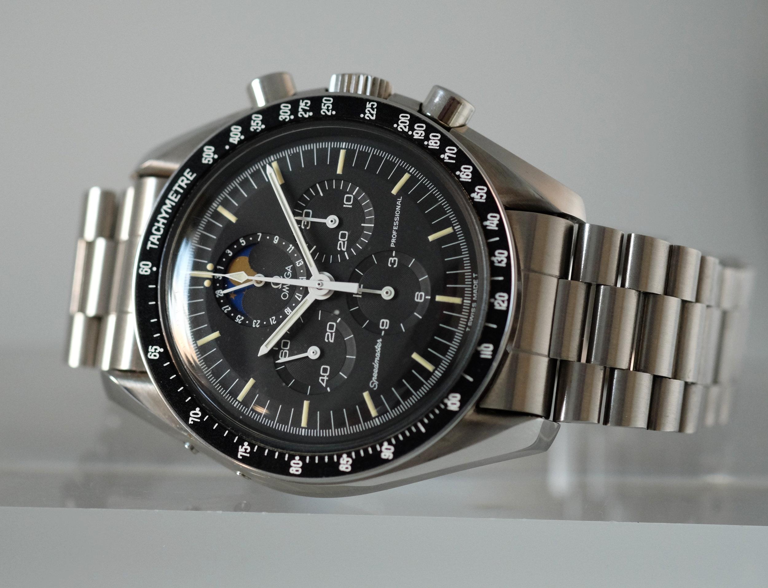 Speedmaster Moonphase Ref. ST 345.0809   SOLD