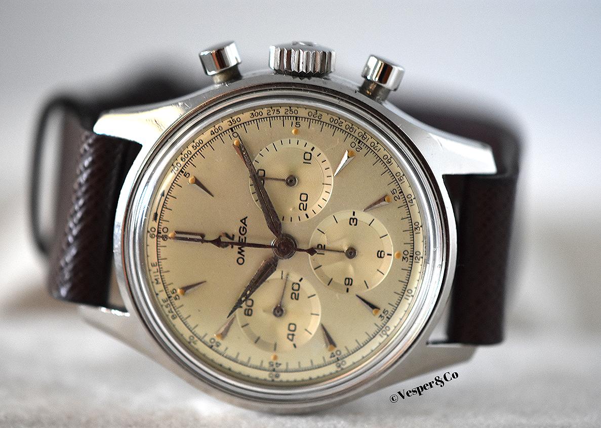 Chronograph Calibre 321 Ref. 2451-7   SOLD