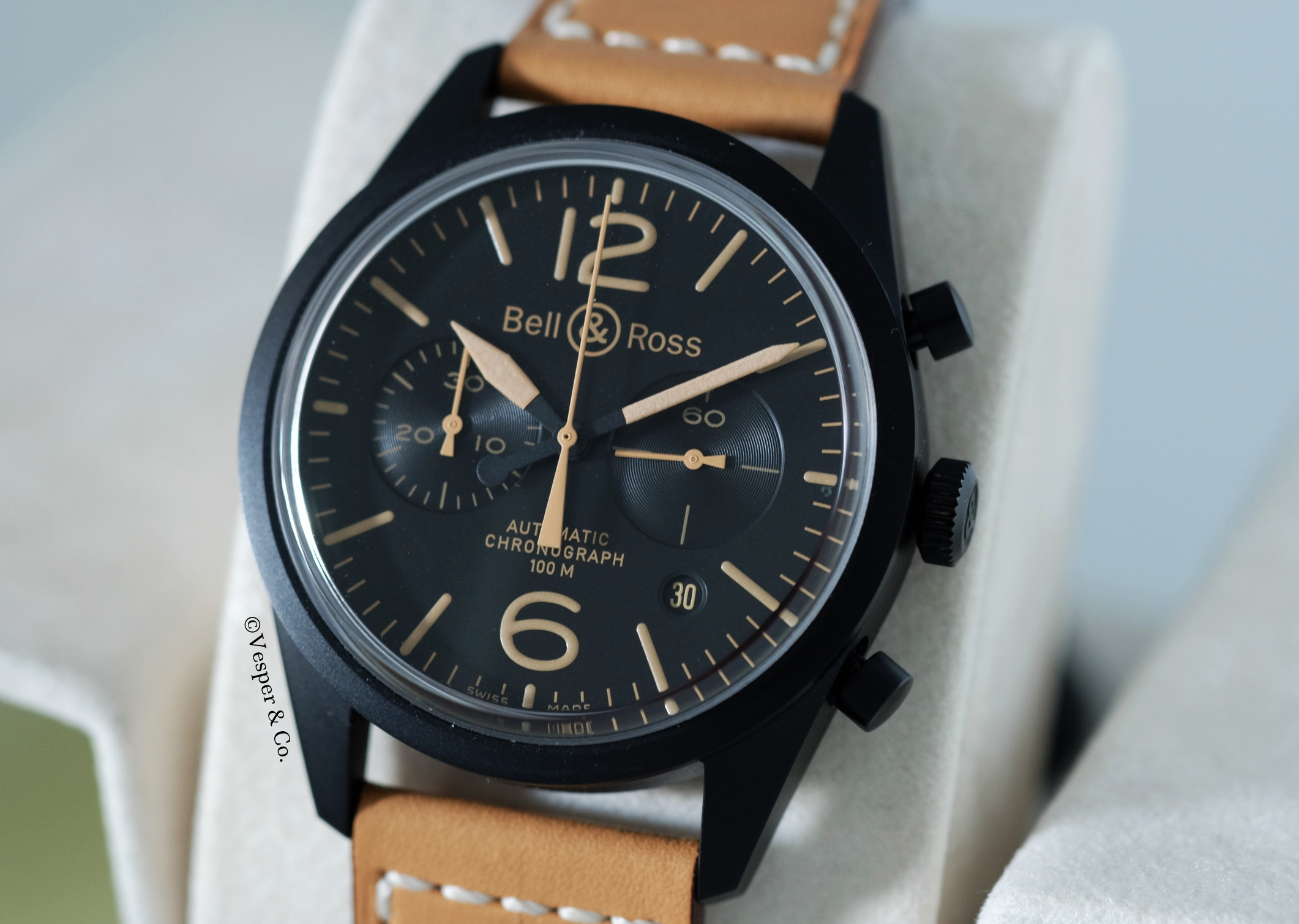 Bell & Ross Heritage Chronograph 126 PVD   SOLD