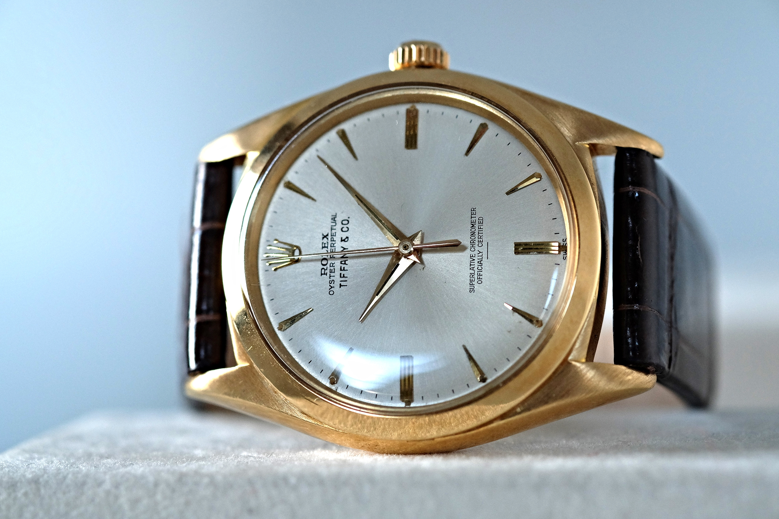 Rolex Oyster for Tiffany & Co. Gold Ref. 1012   SOLD