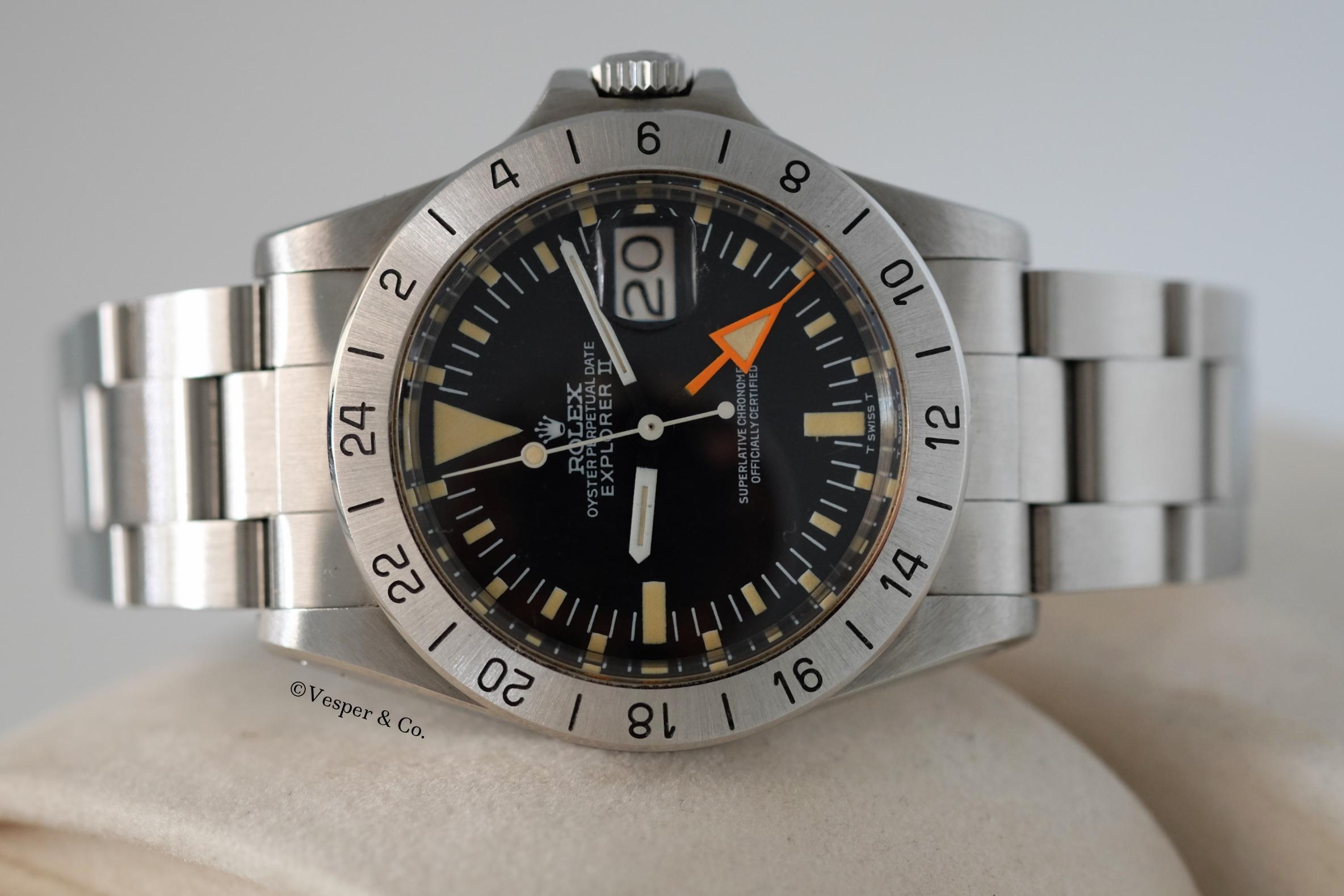 Rolex Explorer II Ref. 1655   SOLD