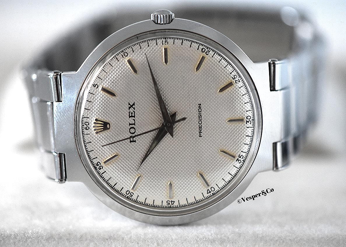 """Rolex Precision Steel """"UFO"""" Ref. 9038   SOLD"""