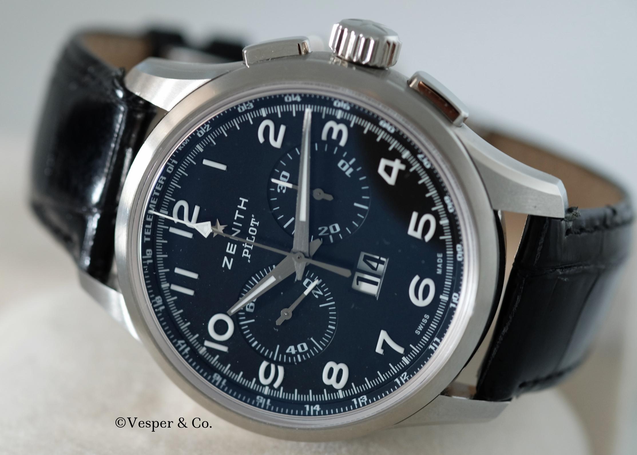 Zenith Pilot Chronograph   SOLD